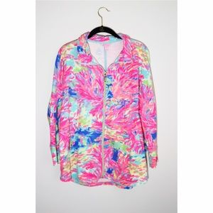 Lilly Pulitzer DeeDee Swing Jacket Palm Beach